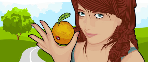 What's better than eating a Mandarin?